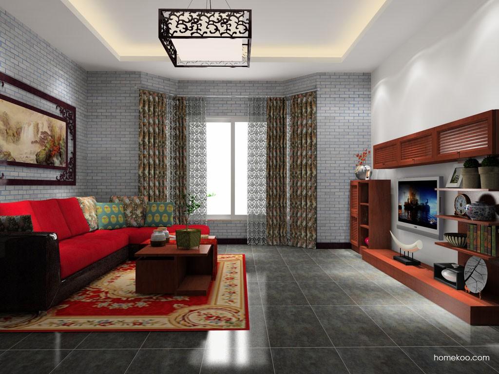 新中式主义客厅家具D14030