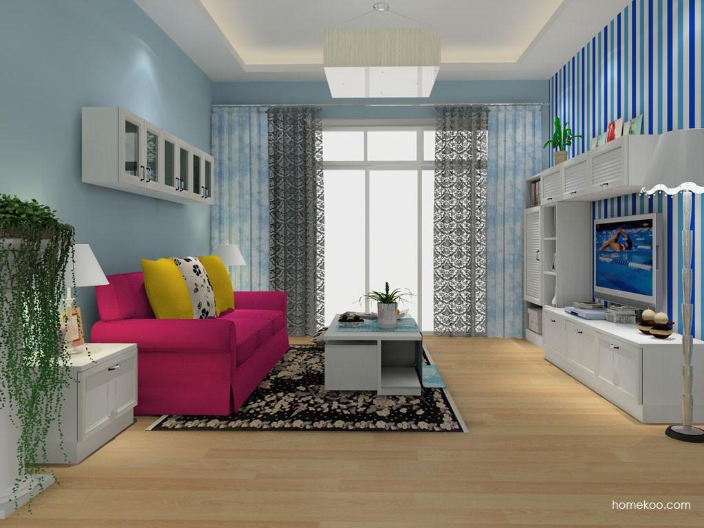 韩式田园客厅家具D14036