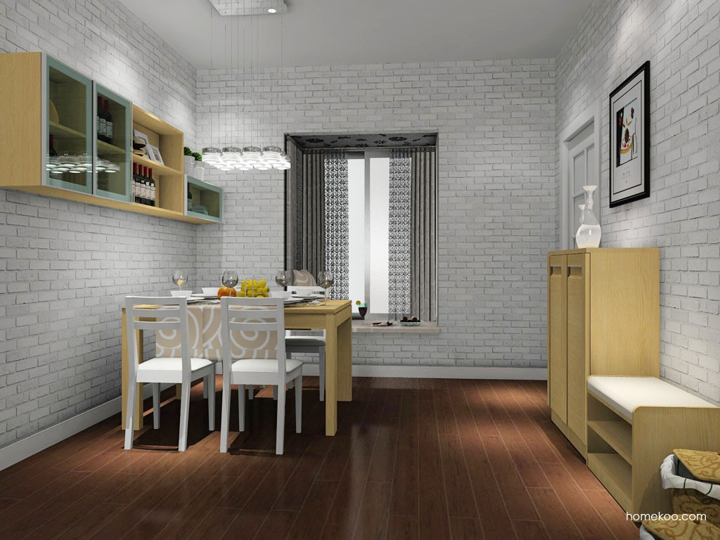 丹麦本色餐厅家具E11024