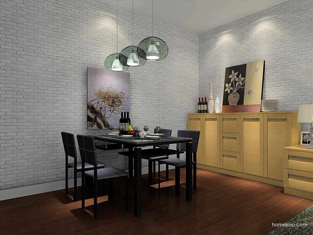 丹麦本色餐厅家具E11033