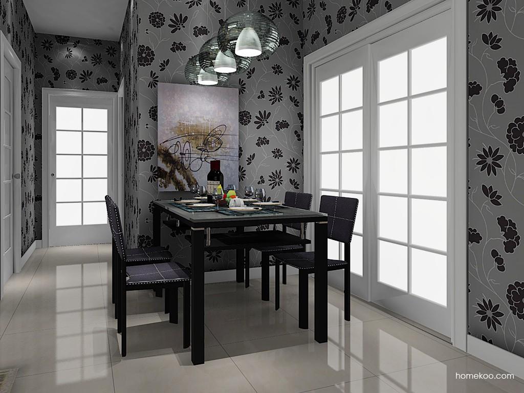 丹麦本色餐厅家具E11042