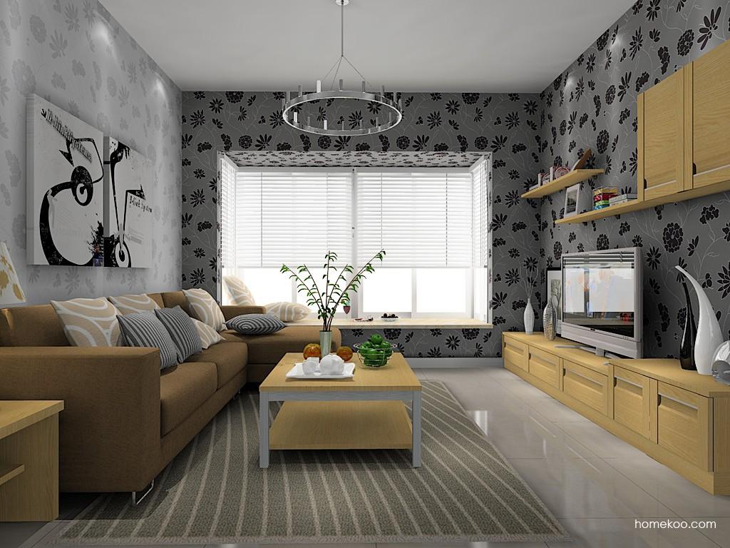 丹麦本色客厅家具D14054