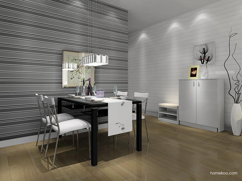 浪漫主义餐厅家具E11043