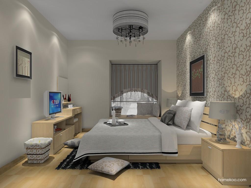 新实用主义卧房家具A14679