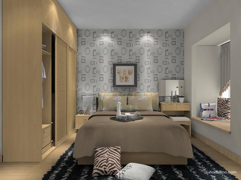 新实用主义卧房家具A14683