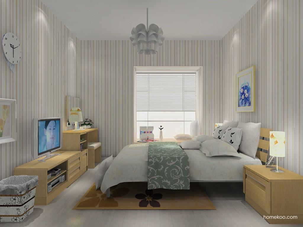 丹麦本色卧房家具A14682