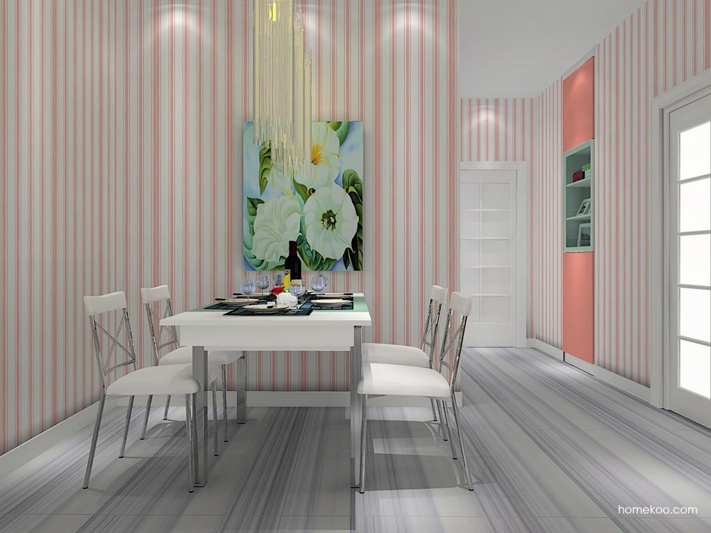 浪漫主义餐厅家具E11064