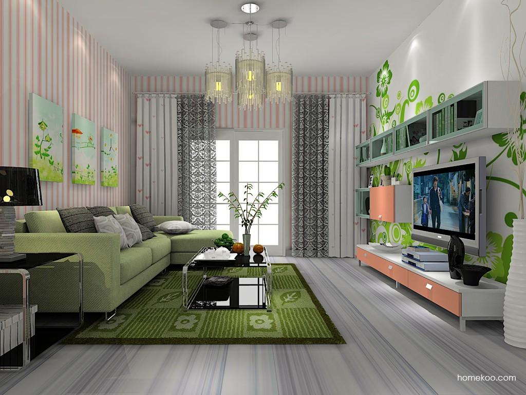 浪漫主义客厅家具D14076