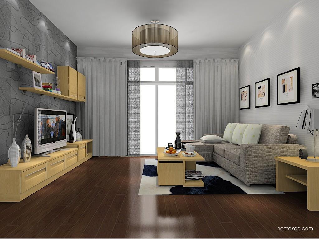 丹麦本色客厅家具D14072