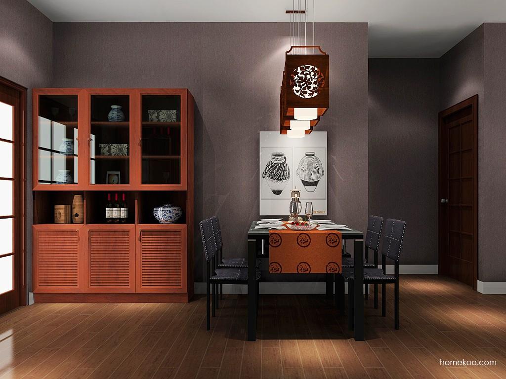 新中式主义餐厅家具E11071