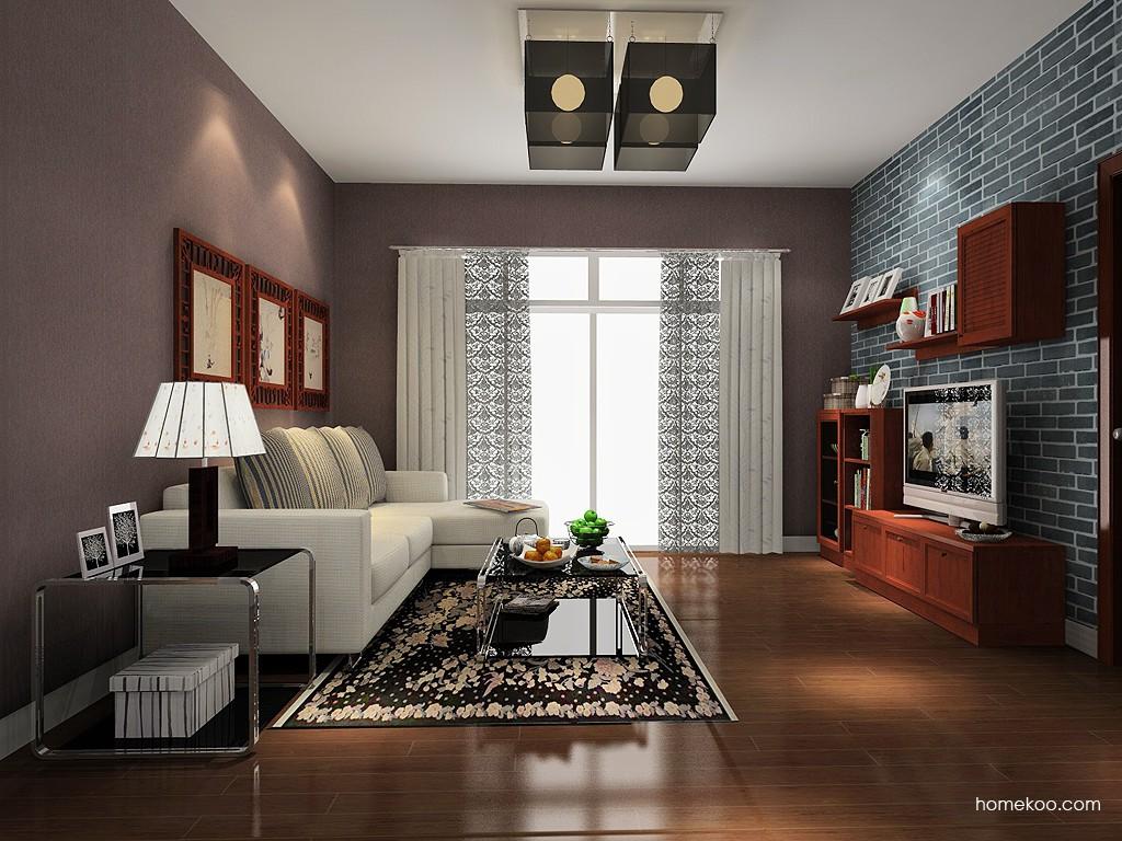 新中式主义客厅家具D14083