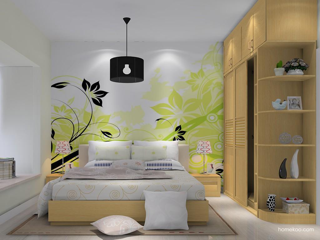 丹麦本色卧房家具A14734