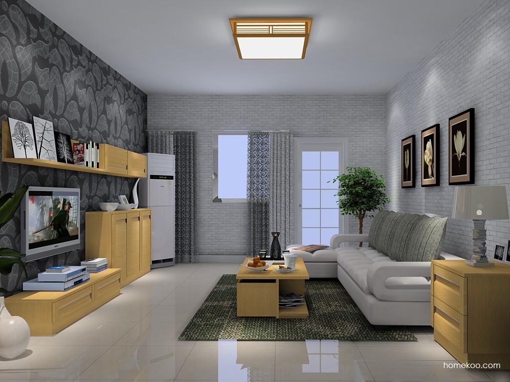 丹麦本色客厅家具D14103