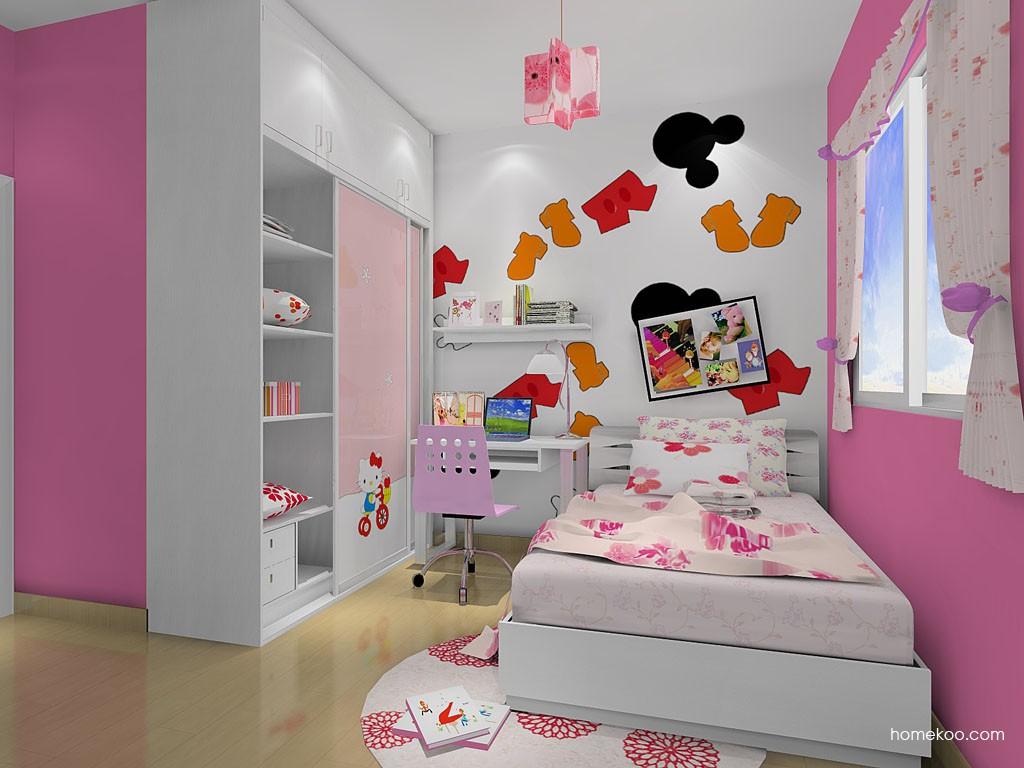 女孩的梦青少年房B12512