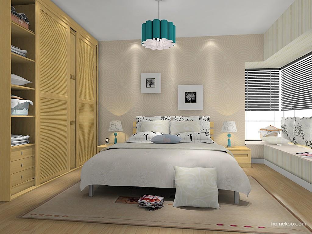 丹麦本色卧房家具A14810