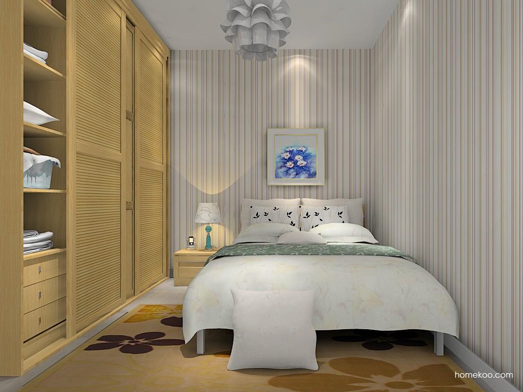 丹麦本色卧房家具A14825