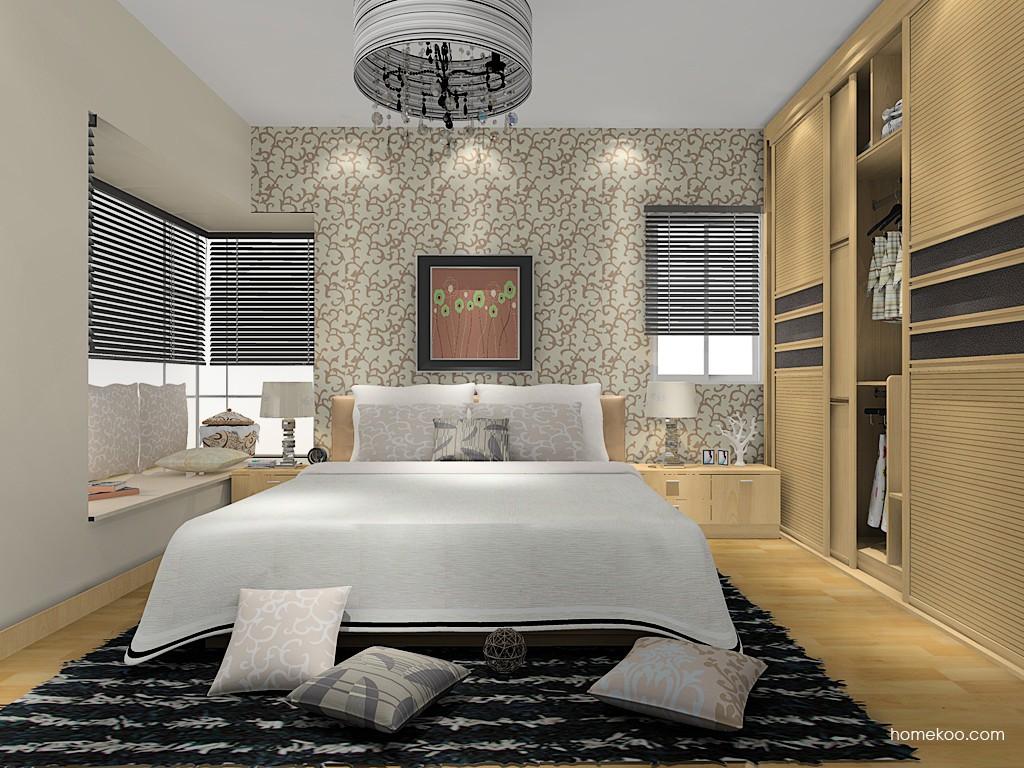 新实用主义卧房家具A14826