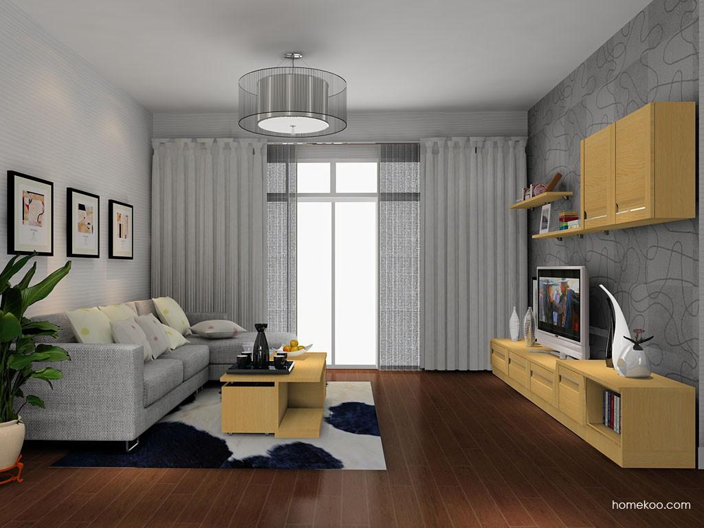 丹麦本色客厅家具D14160