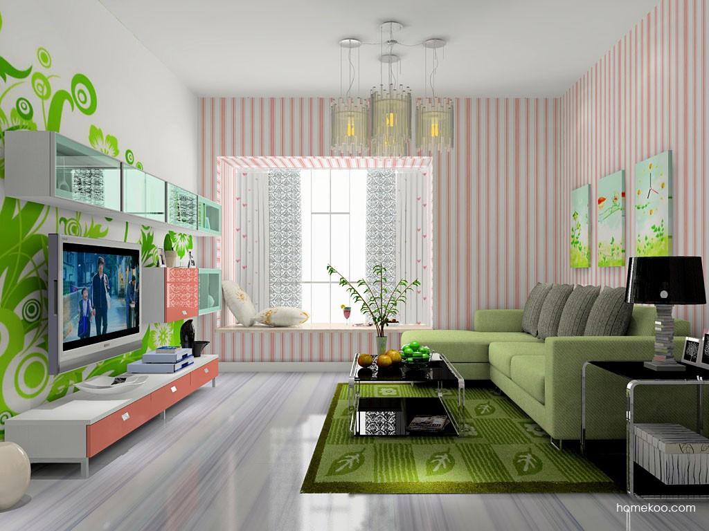 浪漫主义客厅家具D14164