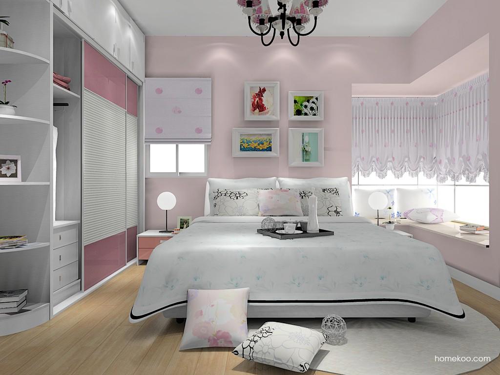 浪漫主义卧房家具A14891