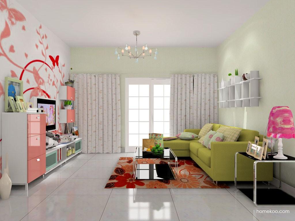 浪漫主义客厅家具D14170