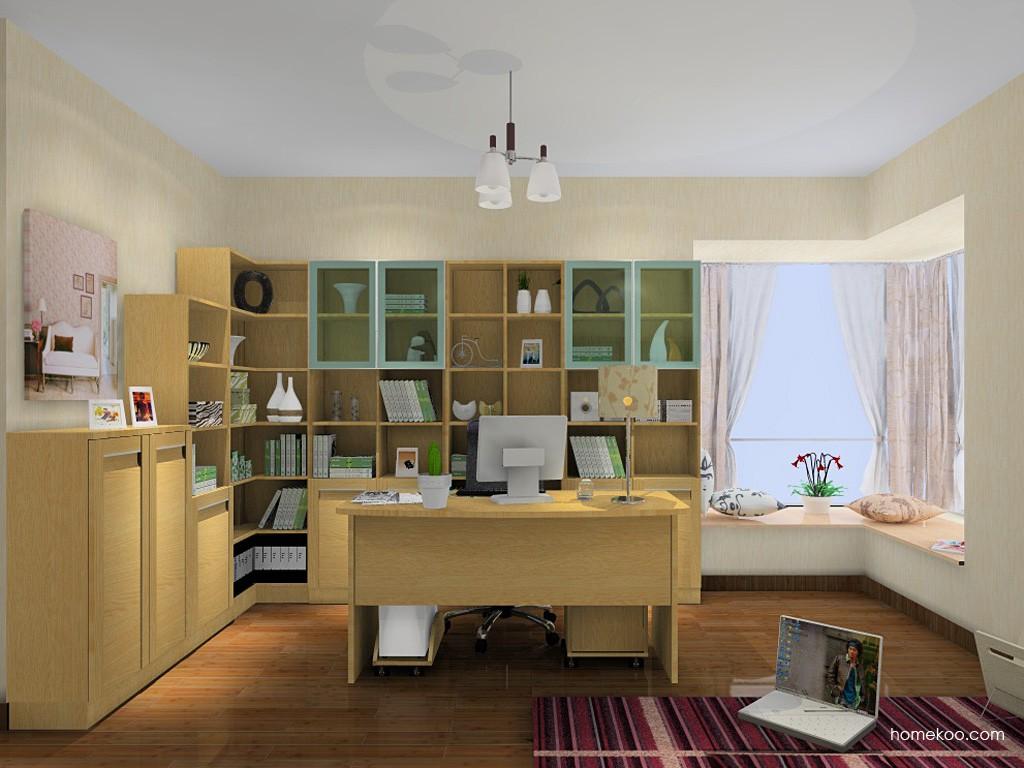 丹麦本色书房家具C14943
