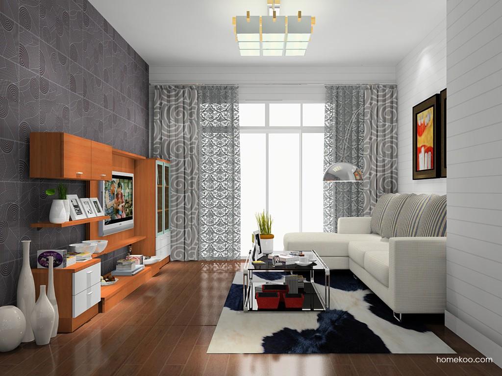 新实用主义客厅家具D14208