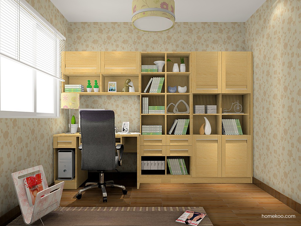 丹麦本色书房家具C15090