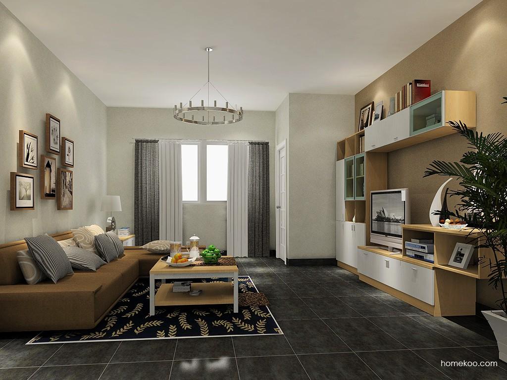 新实用主义客厅家具D14226