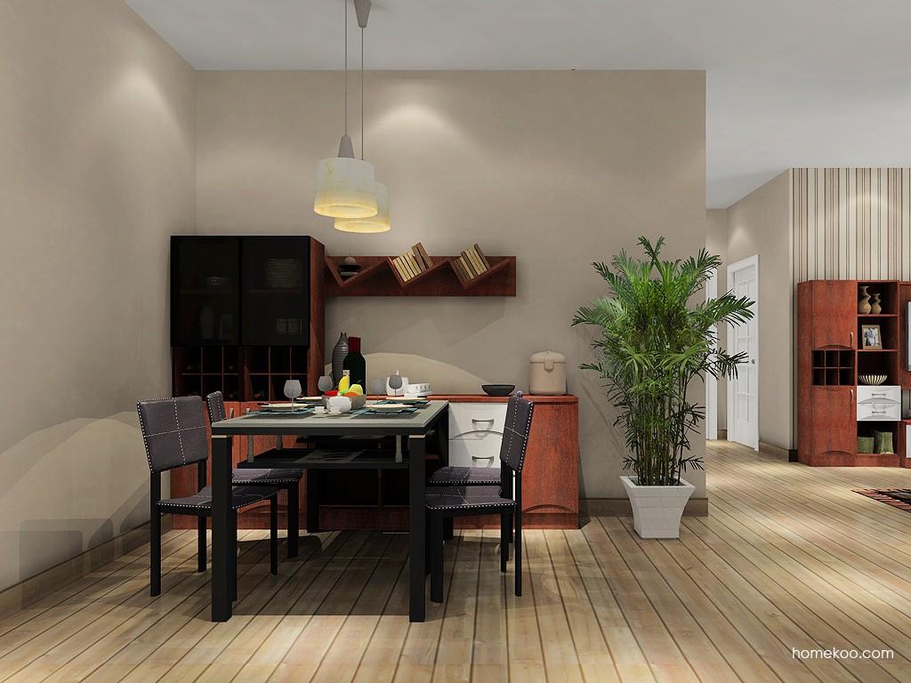 挪威月色餐厅家具E11204