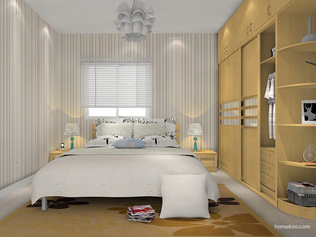 丹麦本色卧房家具A15173