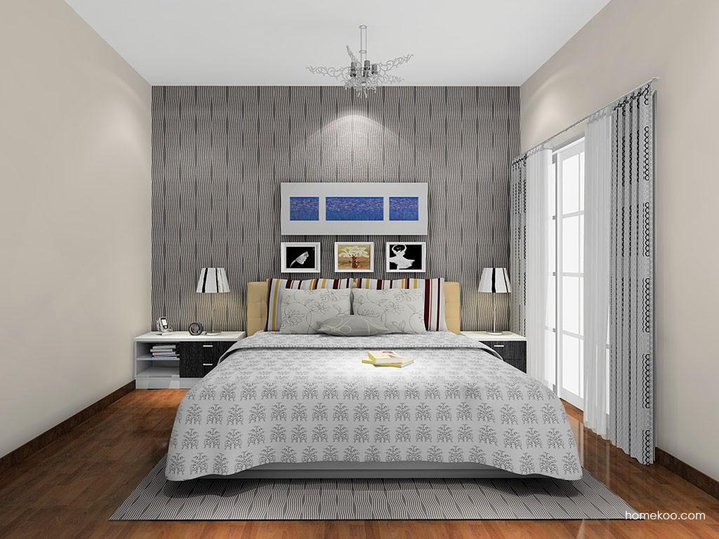 简约主义卧房家具A15237