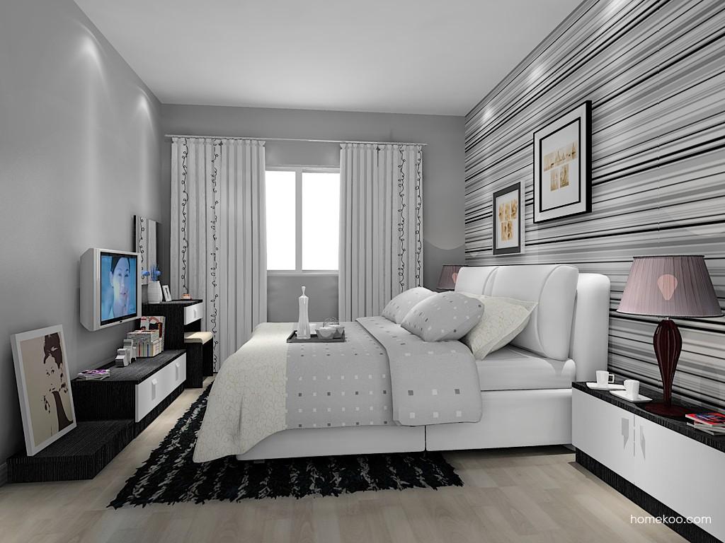 简约主义卧房家具A15312