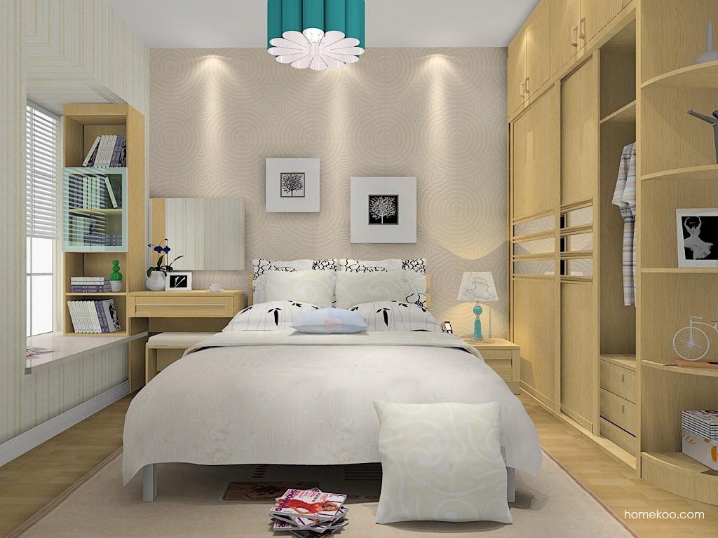 丹麦本色卧房家具A15313