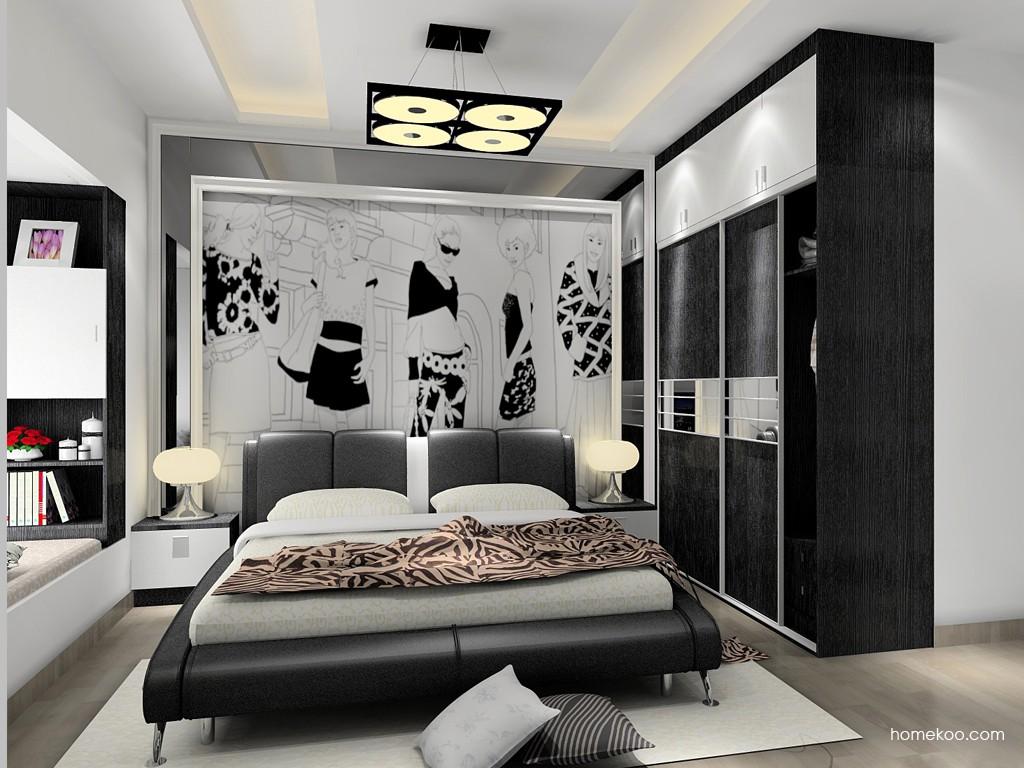 简约主义卧房家具A15457