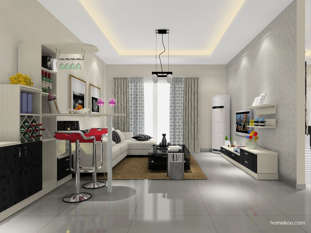 米兰剪影客厅家具D14371
