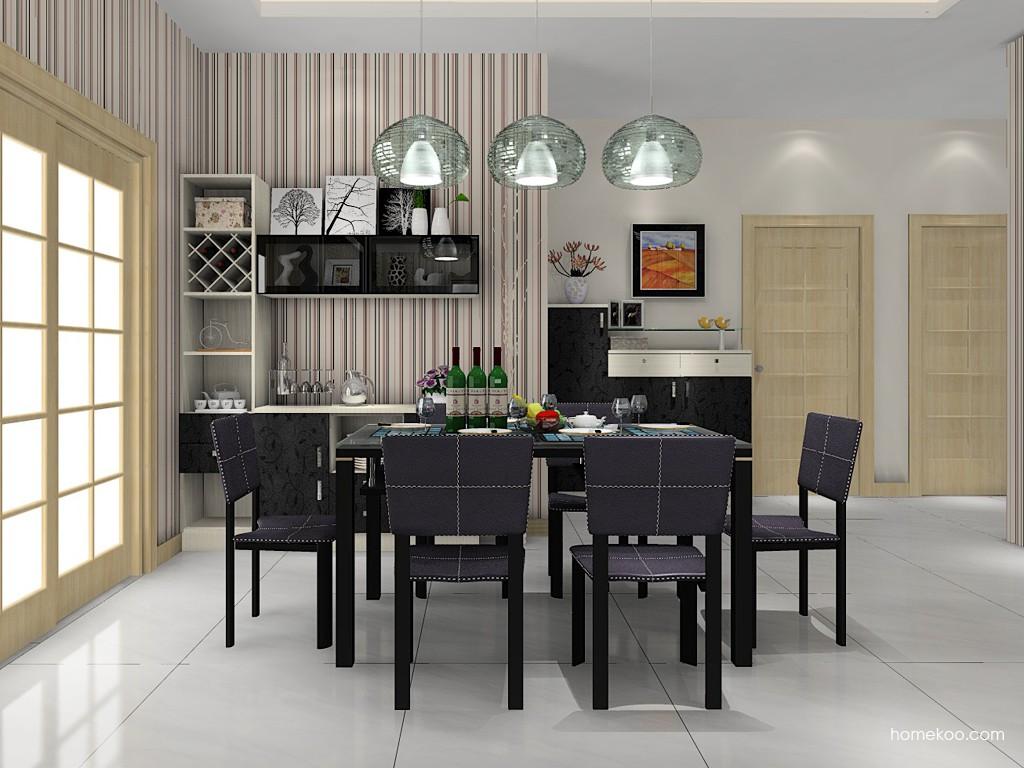 米兰剪影餐厅家具E11355