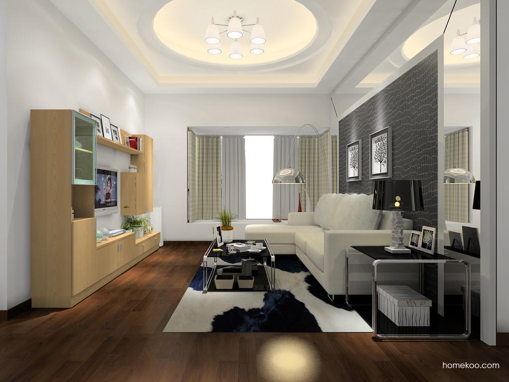 新实用主义客厅家具D14407