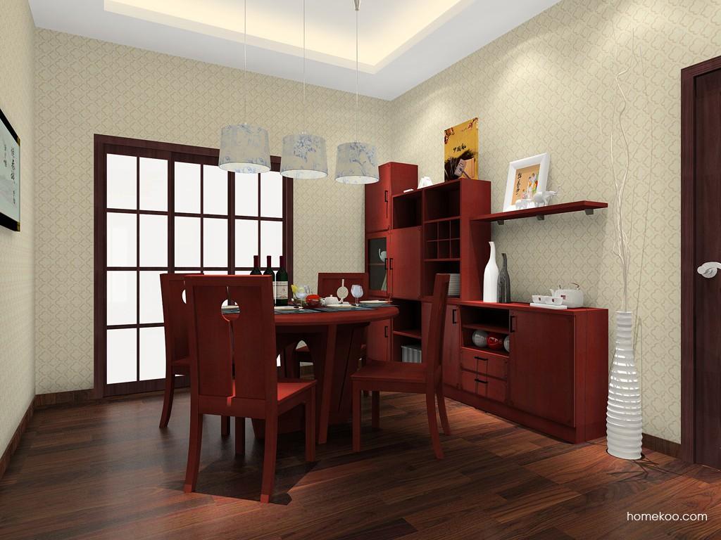 中国韵餐厅家具E11382