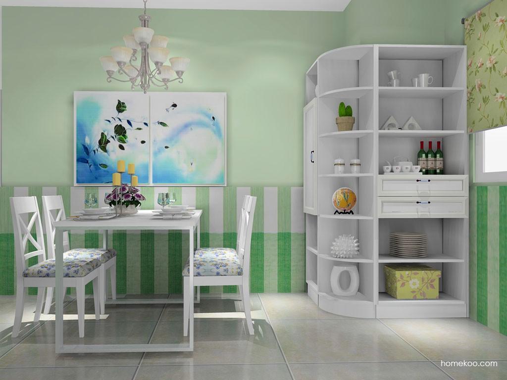 韩式田园餐厅家具E11385