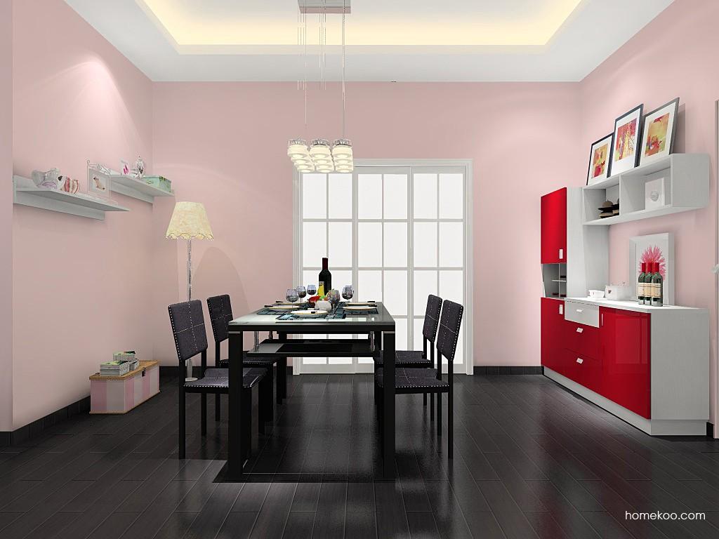 浪漫主义餐厅家具E11394