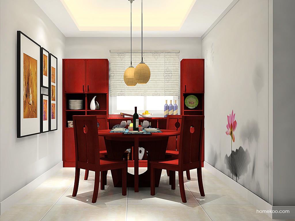 中国韵餐厅家具E11414