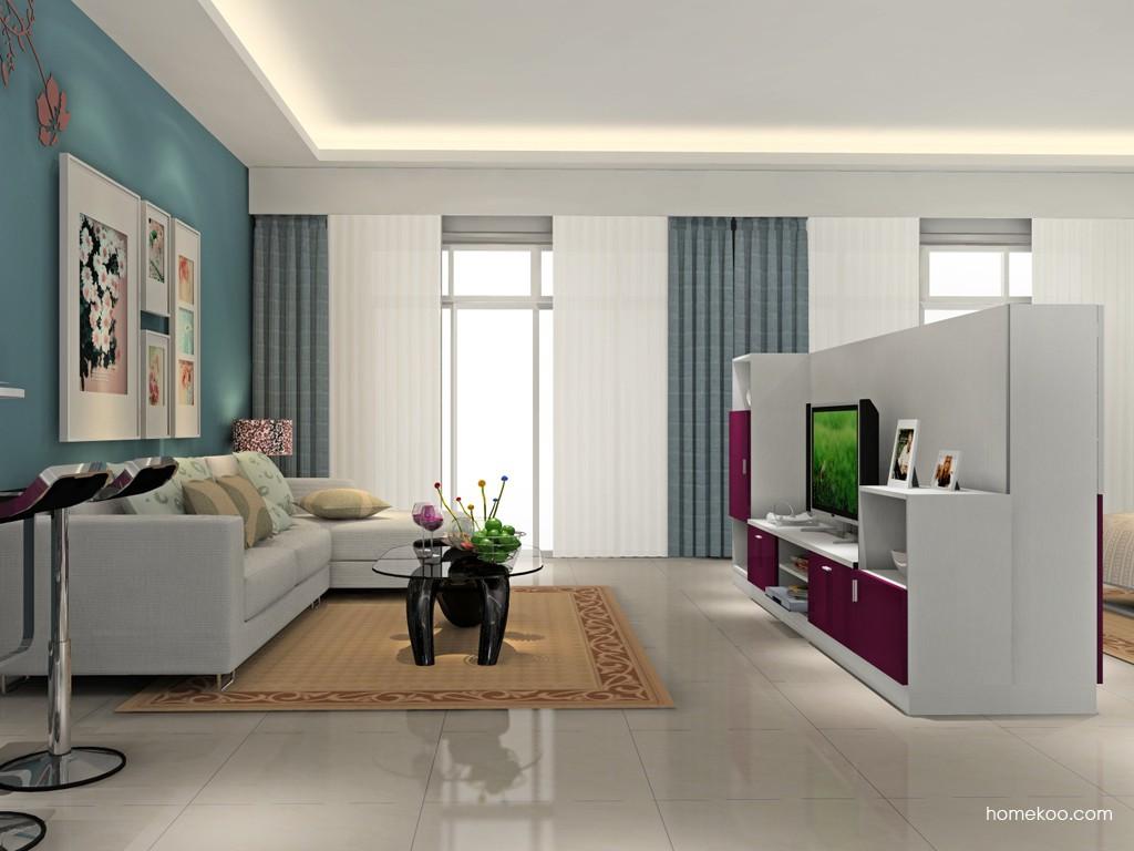 新实用主义客厅家具D15474