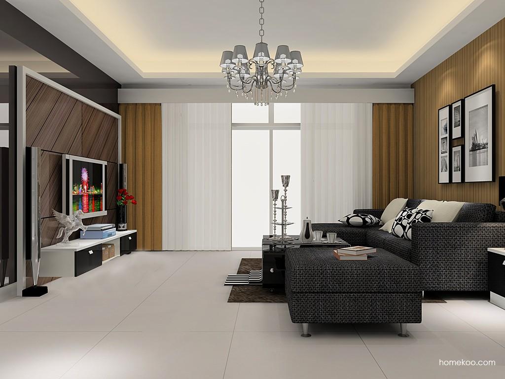 简约主义客厅家具D15488