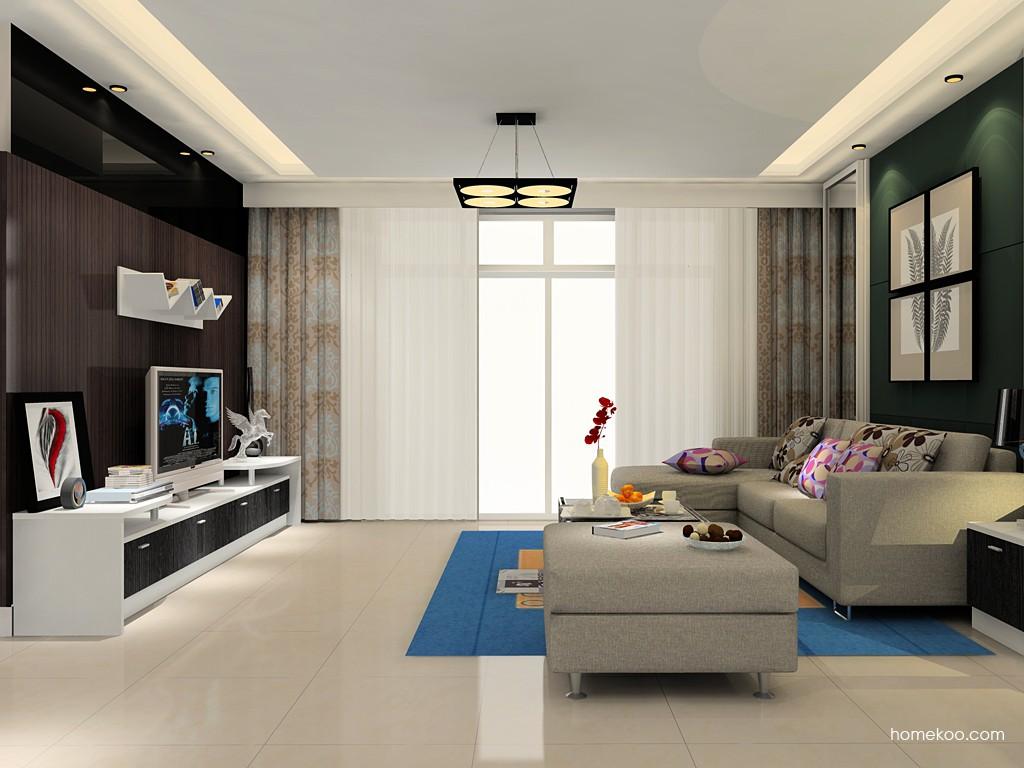 简约主义客厅家具D15493