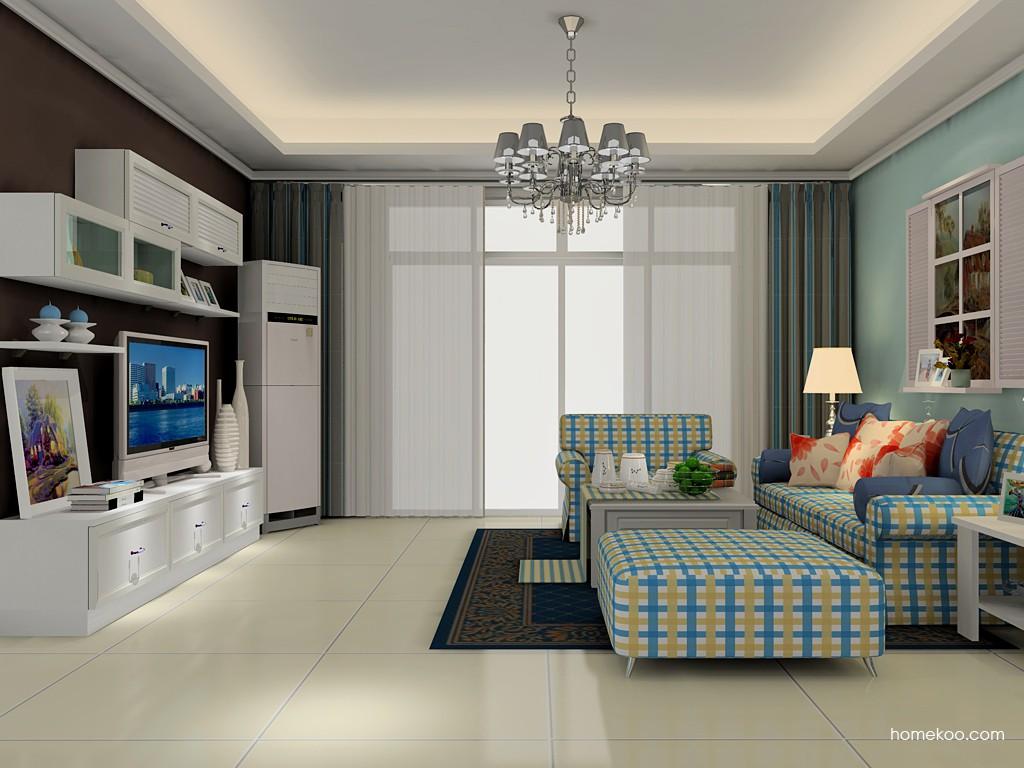 韩式田园客厅家具D15494