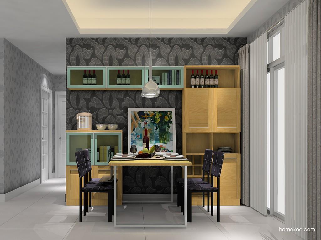 丹麦本色餐厅家具E14612
