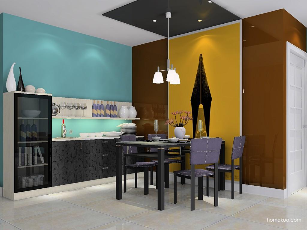米兰剪影餐厅家具E14618