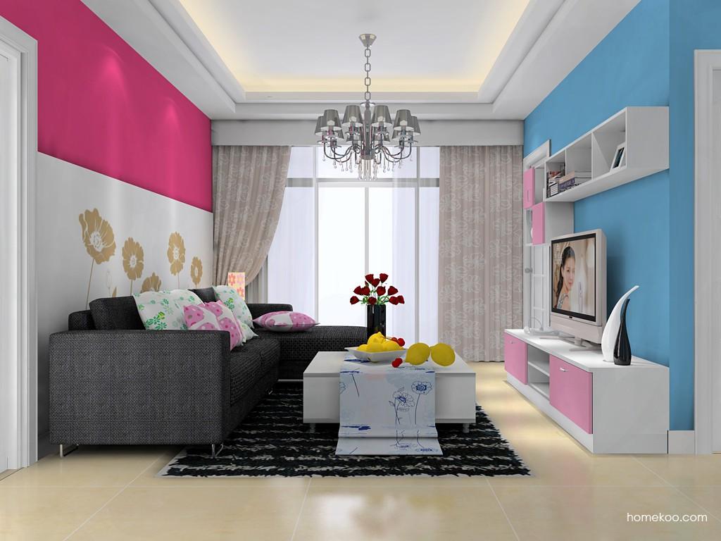 浪漫主义客厅家具D15552