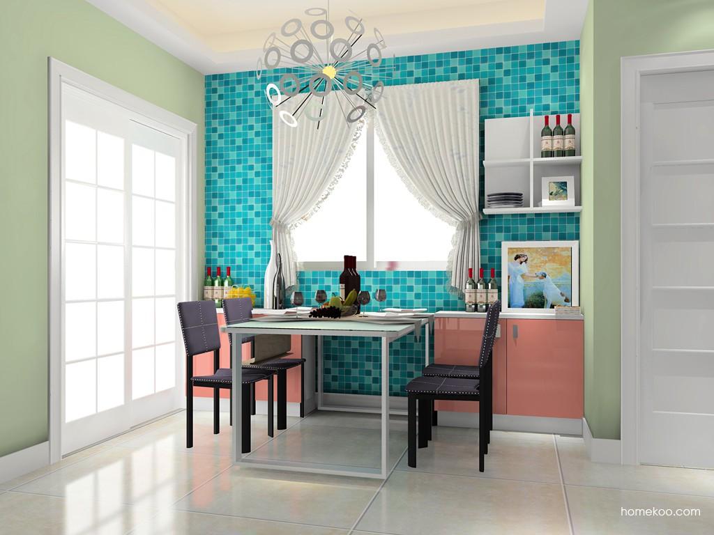 浪漫主义餐厅家具E14687